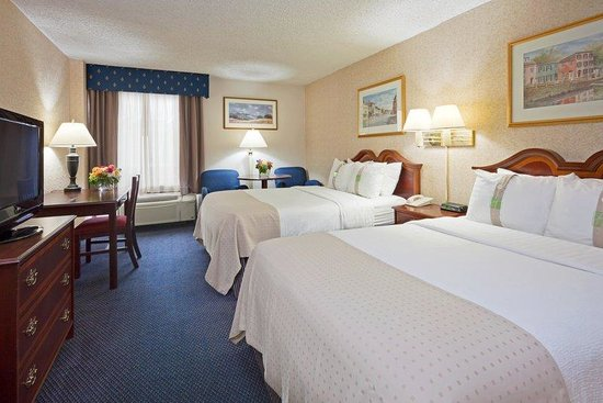 Holiday Inn Washington - Georgetown: Double Bed Guest Room