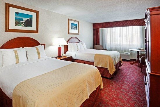 ‪‪Holiday Inn Asheville Biltmore East‬: Double Bed Guest Room‬