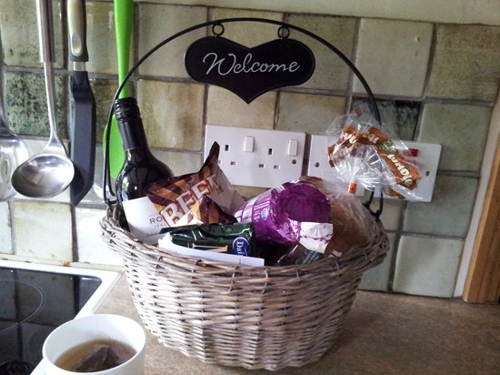 Бакингем, UK: Welcome basket