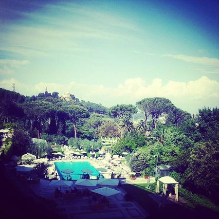 Rome Cavalieri, Waldorf Astoria Hotels & Resorts: View from our room
