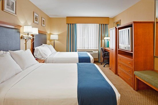Holiday Inn Express NYC - Madison Square Garden: Double Bed Guest Room