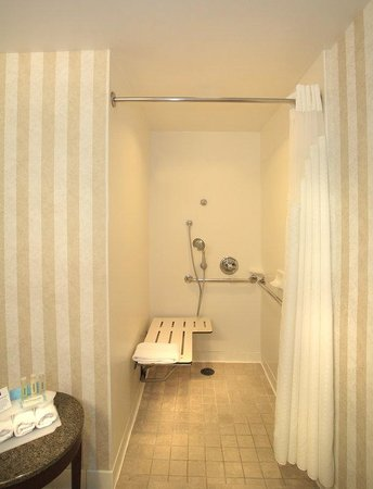 Holiday Inn Express Hotel & Suites San Francisco Fisherman's Wharf: Roll-in Shower