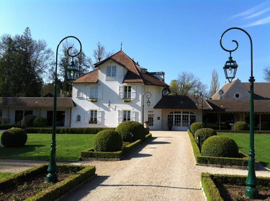 Levernois, Frankreich: The main house.