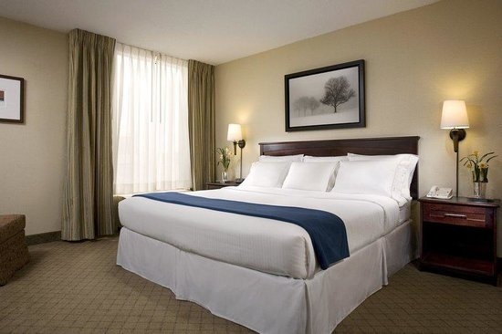 Holiday Inn Express Nashville Downtown: King Bed Guest Room