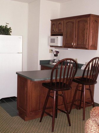 Kokomo, IN: Presidential Suite Kitchenette