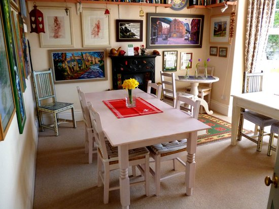 Harlech, UK : Dining room