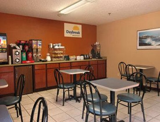Days Inn Brunswick: Breakfast Area