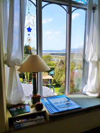 Harlech, UK : The mezzanine window