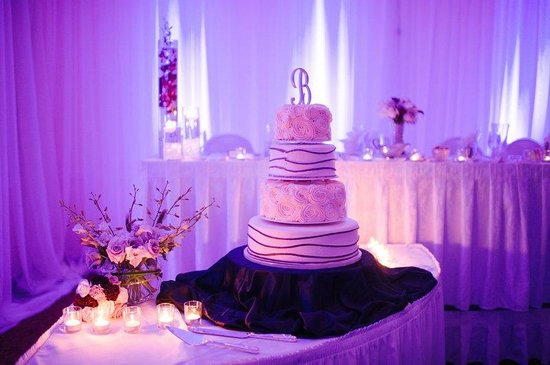 Purple Wedding - Park Plaza Bloomington