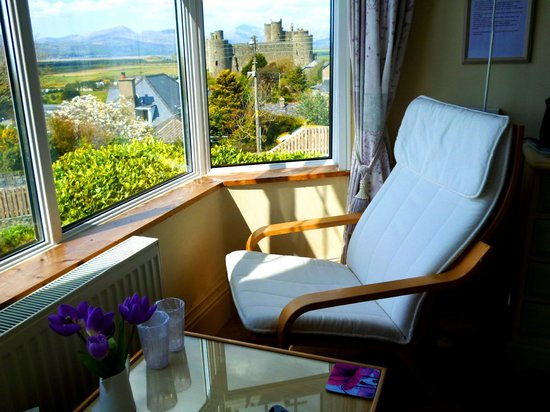 Harlech castle from room.1