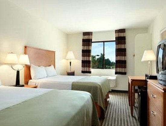 Ramada DFW Airport North Irving: Standard Two Queen Bed Room