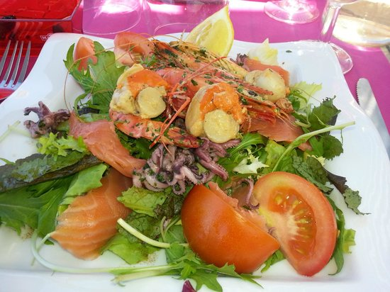 Carry-le-Rouet, Frankreich: salade de la mer