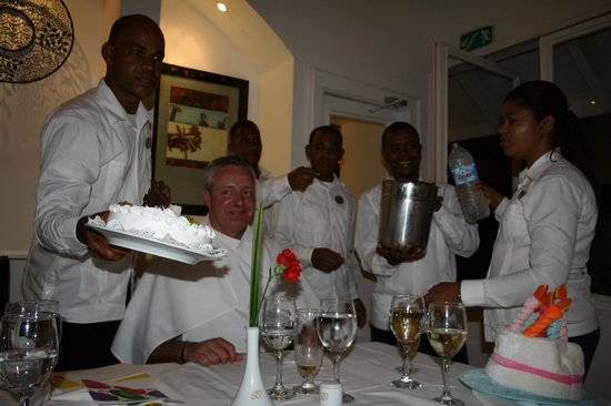 Occidental Grand Punta Cana: Birthday Party Royal Club Restaurant