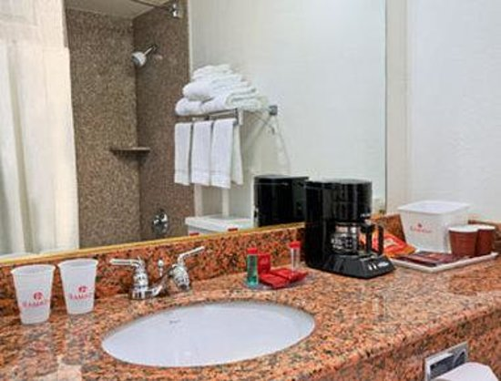 Ramada Medford & Convention Center: Bathroom