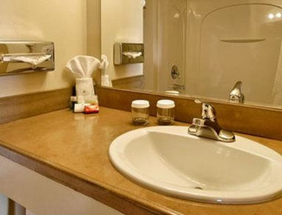 Ramada Anchorage Downtown: Bathroom