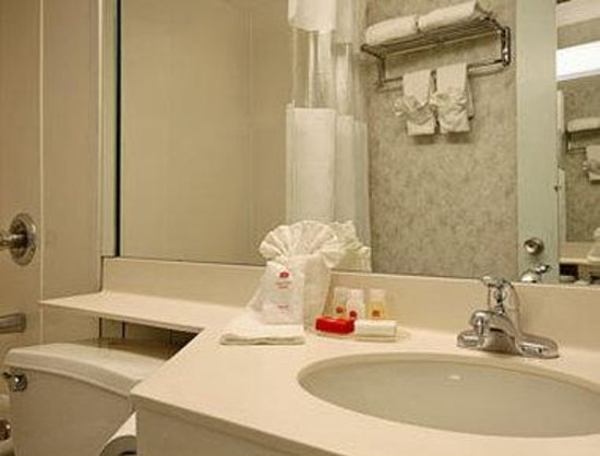 Parsippany, Нью-Джерси: Bathroom