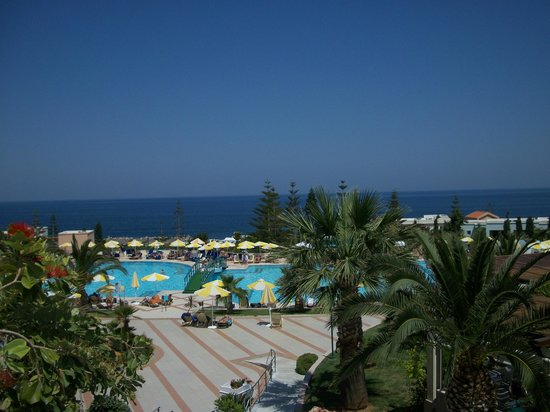 Iberostar Creta Marine: view of pool area from our room