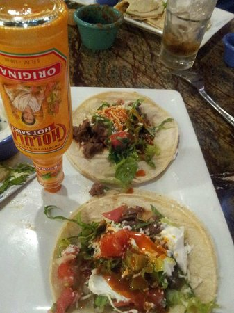 Wellington, FL: Thank god for Cholula !