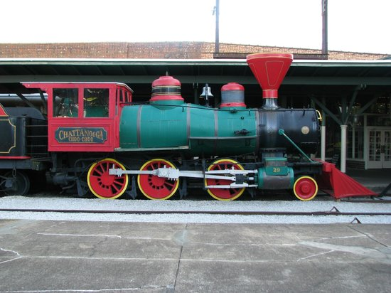 Chattanooga Choo Choo: Engine on grounds.