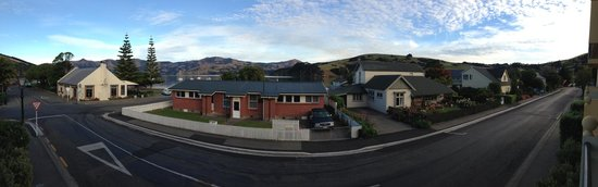 Akaroa Criterion Motel: View from the room
