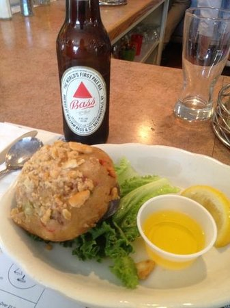 Sandwich, MA: stuffed quahog