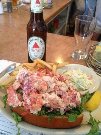 Sandwich, MA: lobster roll