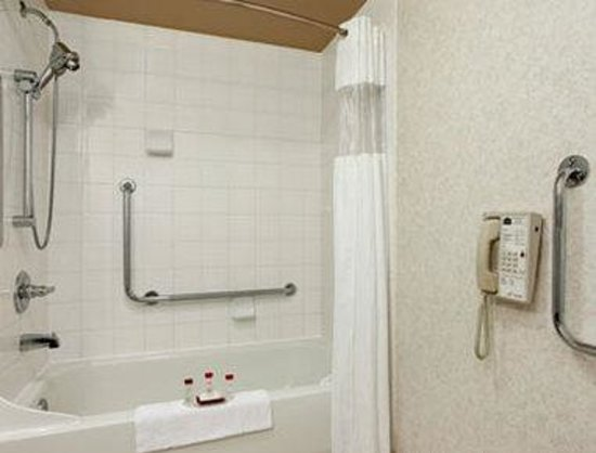 Ramada Limited Edmonton East/Sherwood Park: ADA Bathroom