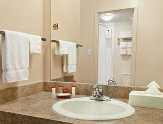 Ramada Limited Edmonton East/Sherwood Park: Bathroom