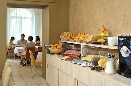 Star City Hotel: Breakfast room