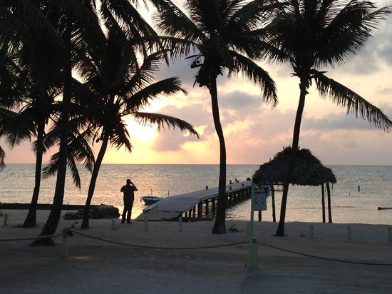 Caye Casa: Beautiful sunrise