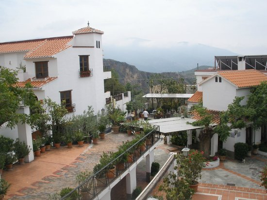 Lanjaron, España: View from balcony