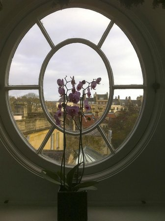Royal Crescent Hotel: View from room