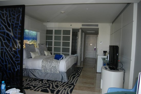 Paradisus Playa del Carmen La Perla: Junior Suite looking in from the patio