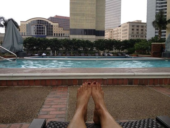 New Orleans Marriott: The pools