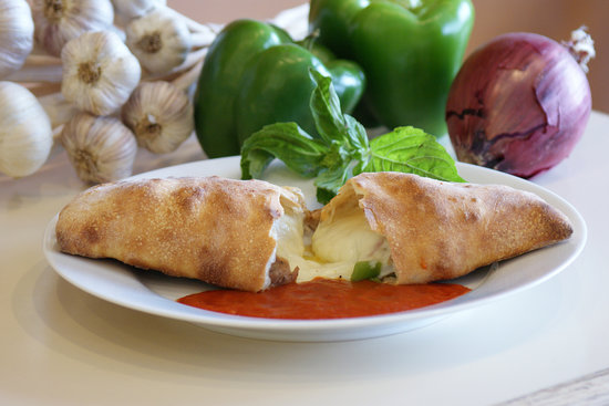 Loveland, CO: Calzone.