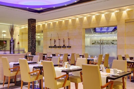 Steigenberger Airport Hotel: SHRAirport Restaurant Five Continents