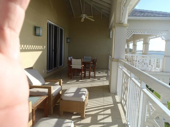 Alexandra Resort: One Bedroom Oceanfront Suite Balcony--Lady Rose Building