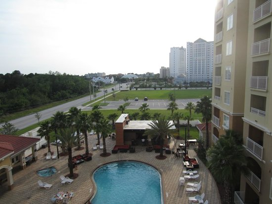 The Point Orlando Resort: View from 5th floor balcony
