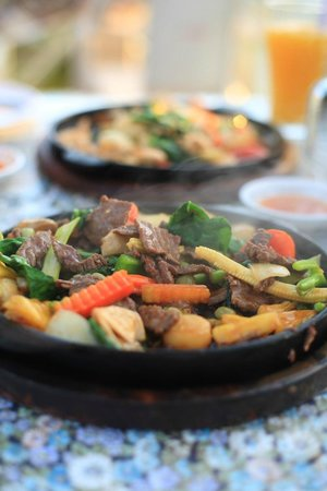 Phi Phi Hill Resort: Hot dish