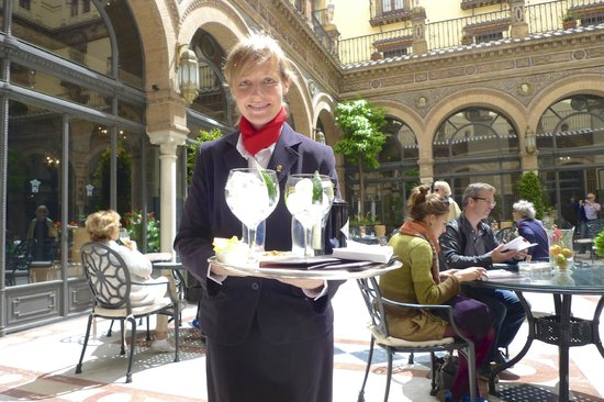 Alfonso XIII Hotel: Memorable G&Ts