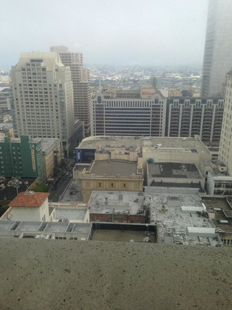 JW Marriott San Francisco Union Square: View from Club Lounge