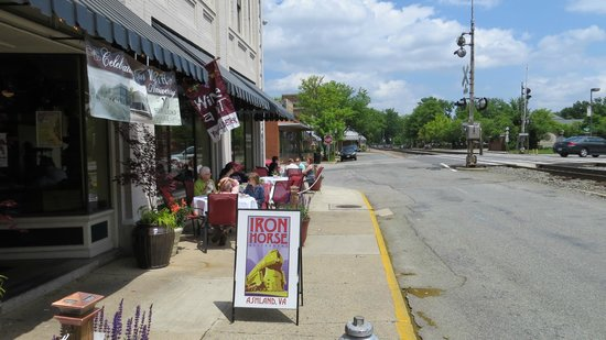 Ashland, Virginie : Outdoor seating