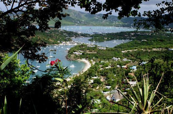 English Harbour, Antigua: Villas from Shirley's Heights