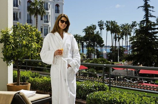 Majestic Barriere Cannes : SPA MY BLEND BY CLARINS
