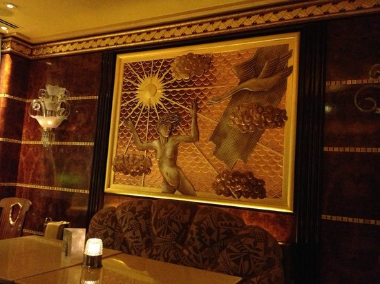 The Ritz London: Beautiful lalique bar