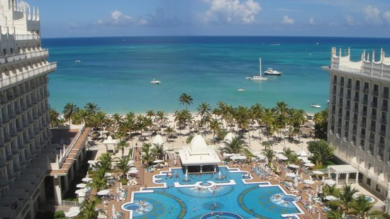 Riu Palace Aruba: Vista do quarto.