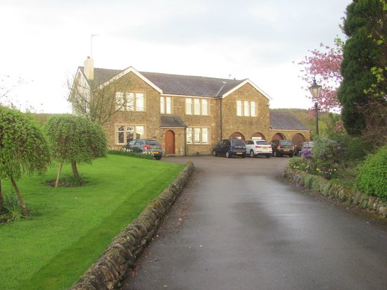 Carnforth, UK: House from bottom of drive