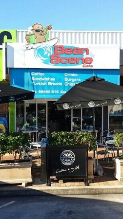 Yamba, Australia: Alfresco seating