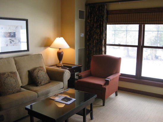Elkhart Lake, WI: living room