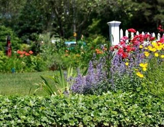 ‪‪Allen Harbor Breeze Inn & Gardens‬: One of our many garden settings‬